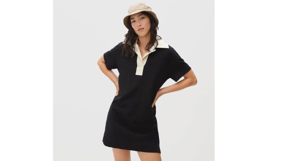 The Retro Jersey Polo Dress