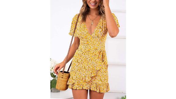 Relipop Short-Sleeve Print Dress