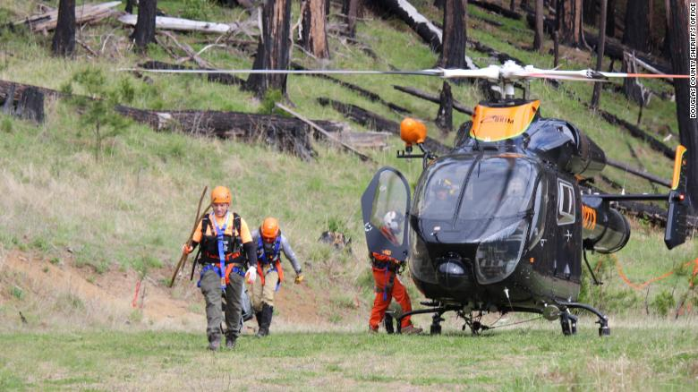Missing fisherman found alive after 17 nights in the Oregon wilderness