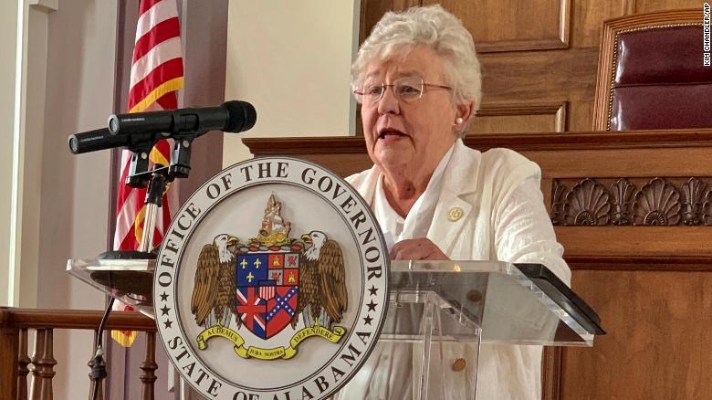 Alabama governor signs bill banning Covid-19 vaccine passports