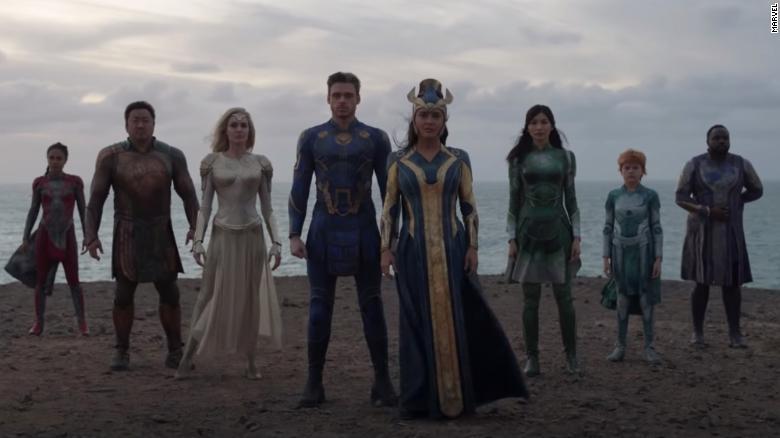 Marvel Studios debuts teaser trailer for 'Eternals'