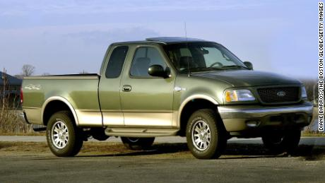 This 2002 Ford F-150 was offered with a power sunroof.