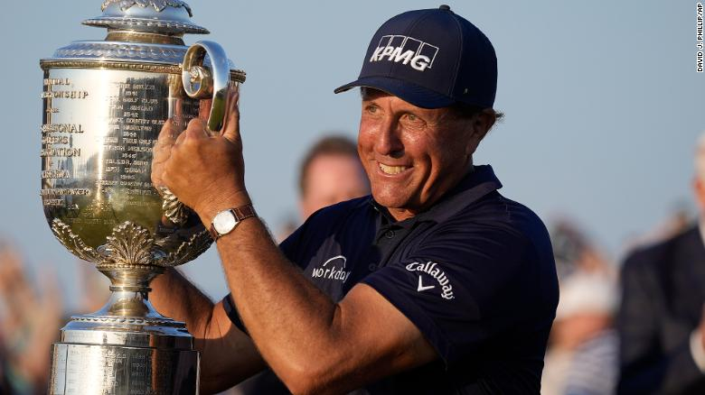 What Phil Mickelson's win can teach us about staying fit over 50
