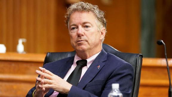 Image for YouTube Suspends KY Senator Rand Paul for Claiming Masks are Ineffective