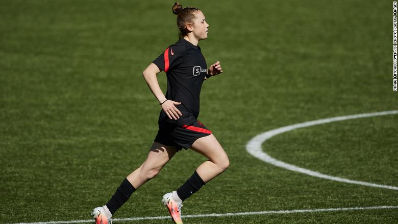 15-year-old soccer player should be allowed to play in US professional women's league, judge rules