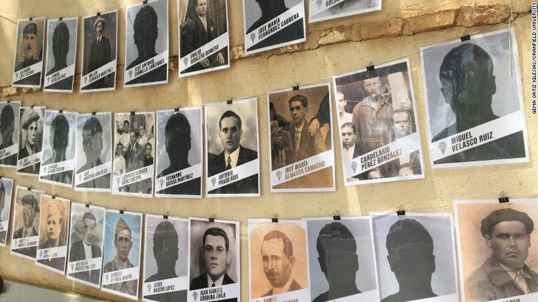 Archaeologists recover victims of the Spanish Civil War