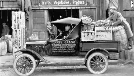 The Ford Model T Runabout with a steel platform is widely regarded as America's first factory-built pickup.