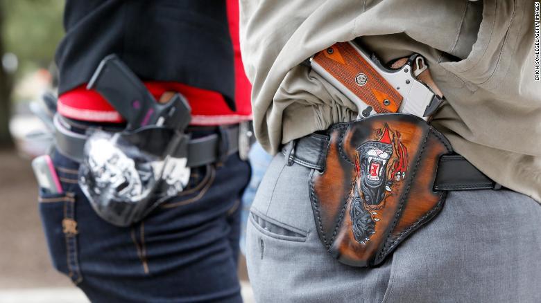Texas lawmakers send permit-free gun carrying legislation to governor's desk