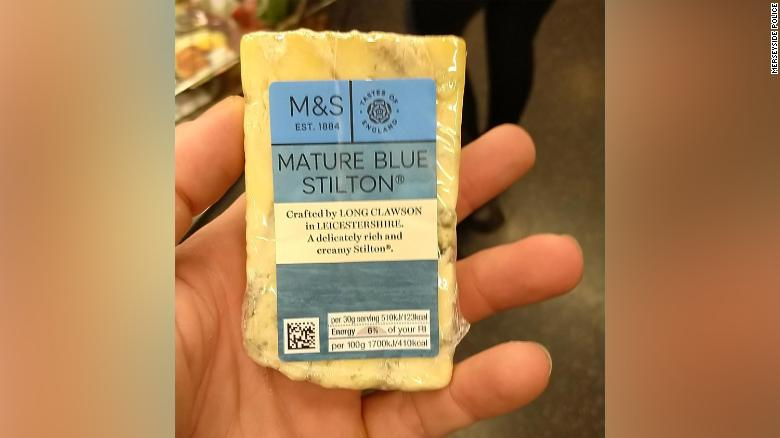 Cheese-loving drug dealer jailed after police spot his fingerprints in a picture of a block of Stilton