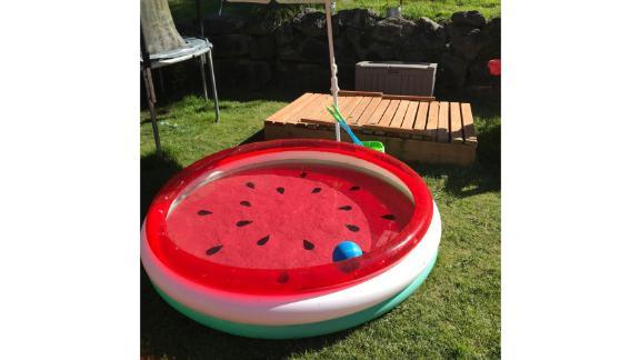 Sun Squad 3-Ring Pool Watermelon