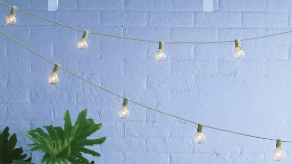 Room Essentials Incandescent Outdoor String Lights, 20-Count