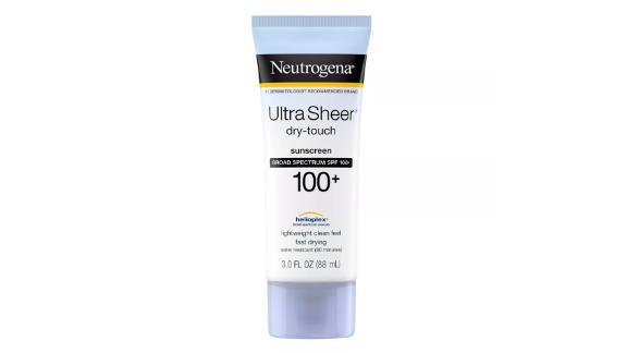 Neutrogena Ultra Sheer Dry-Touch Sunscreen Lotion SPF 100+