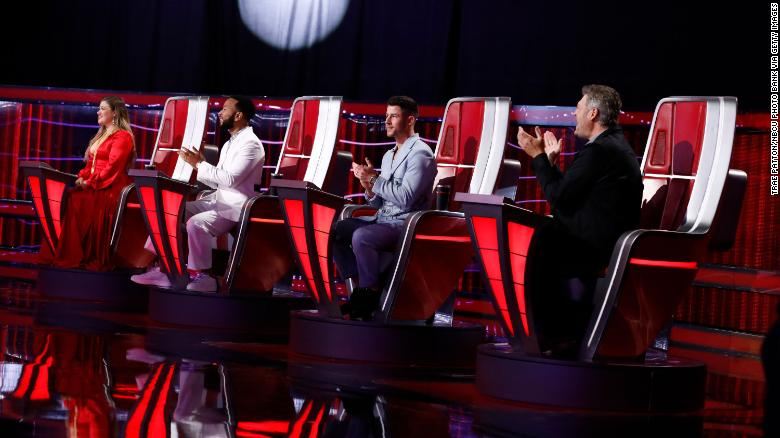 'The Voice' season finale is down to the final five contestants