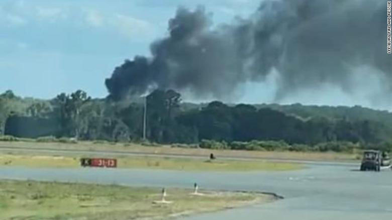 At least 1 dead after a firefighting helicopter crashed in Florida during a training exercise, FAA says