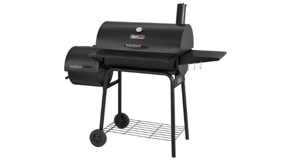 Royal Gourmet 30-Inch Barrel Charcoal Grill With Smoker
