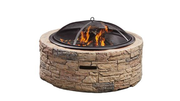 Arlmont & Co Koch Wood Burning Outdoor Fire Pit
