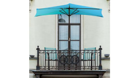 Pure Garden 108-Inch Market Umbrella