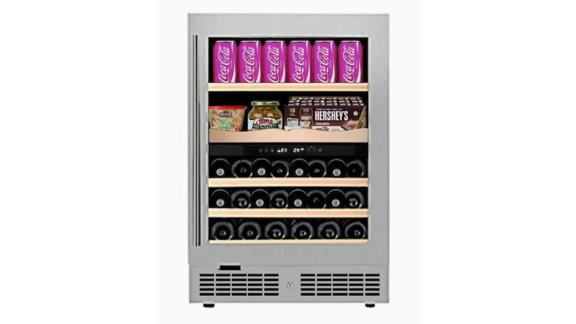 Equator Advanced Appliances Stainless Steel Wine Chiller