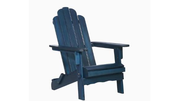 Walker Edison Wood Frame Adirondack Chair