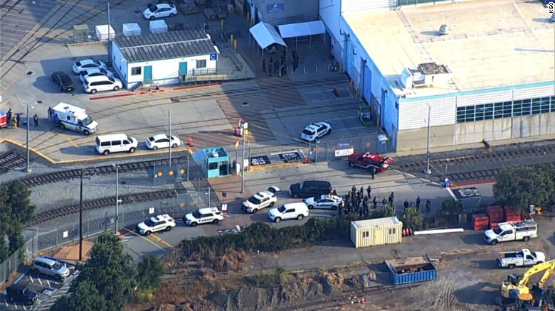 Police responding to shooting in downtown San Jose by VTA maintenance yard