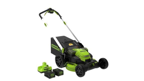 Greenworks Pro Cordless Battery Self-Propelled Lawn Mower