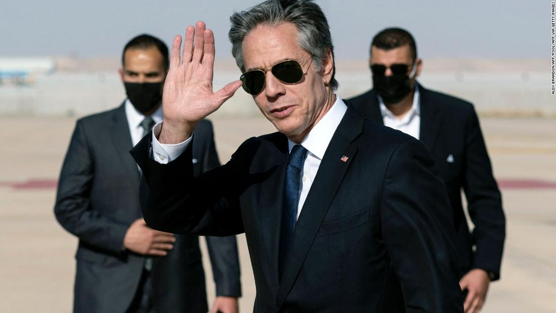 Blinken warns talks with Iran can't go on indefinitely