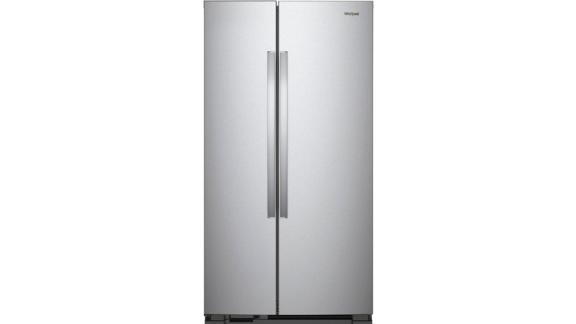 Whirlpool - 25.1 Cu. Ft. Side-by-Side Refrigerator - Stainless steel