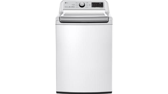 LG Electronics High-Efficiency Smart Top-Load Washer and Dryer Bundle