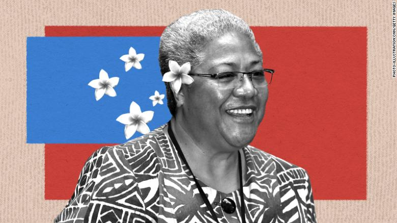 The incredible rise of Samoa's first female Prime Minister-elect, and the man still standing in her way