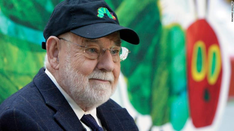 Eric Carle, author and artist behind 'The Very Hungry Caterpillar,' dies at 91