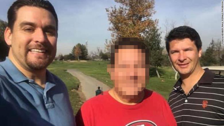 Michael Joseph Rudometkin, derecha, fue recordado por el concejal de San José Raúl Peralez, izquierda, en una publicación de Facebook.  Lo describió como un & quot; gran amigo desde hace mucho tiempo & quot ;.