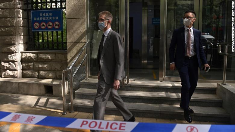 Ambassador denied entry as Australian writer faces China espionage trial