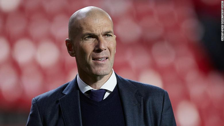 Zinedine Zidane leaves as manager of Real Madrid for second time