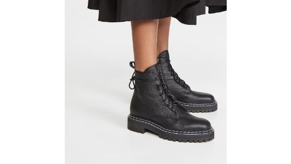 Proenza Schouler Lace-Up Ankle Boots