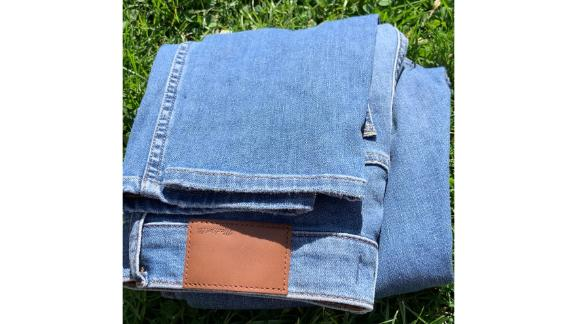 Madewell High-Rise Skinny Crop Jeans in WellingWash: Summerweight Edition