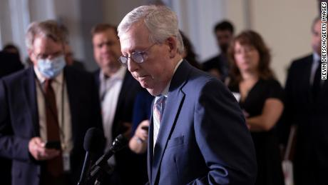 Mitch McConnell plays his Supreme Court card