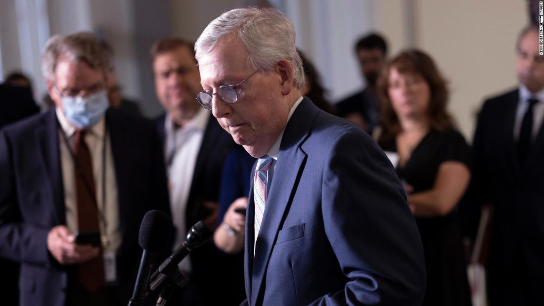Analysis: Mitch McConnell plays his Supreme Court card