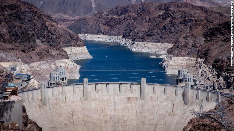 """The water-level of Lake Mead, the largest reservoir in the US and a critical source of water for millions across the Southwest, has fallen 140 feet since 2000, a third of capacity.  Can we come to terms with the increased aridity across the west that the drying out of the Colorado River may bring?   The western states are haunted by the return of the """"Arid Region"""" John Wesley Powell once mapped."""