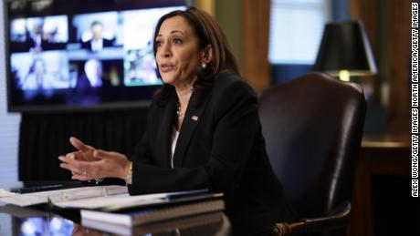 Vice President Harris' team tries to distance her from fraught situation at the border