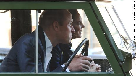 """Grab the popcorn! William and Kate hosted a drive-in movie night for healthcare workers at the Palace of Holyroodhouse in Edinburgh on Wednesday, """"in recognition of their vital work throughout the pandemic."""" They rolled up to the event -- which screened the new Disney flick """"Cruella"""" -- in a Land Rover Defender that previously belonged to Prince Philip."""