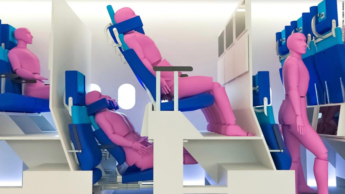 Double-decker airplane cabin concepts