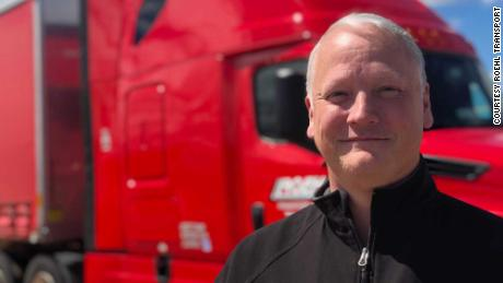 Daniel Walton, a truck driver for Roehl Transport, said some of the other drivers at his company are using two recent pay increases to drive less and be at home more.
