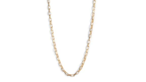 Nordstrom Box Chain Collar Necklace