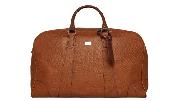 Ted Baker Faux Leather Duffel Bag