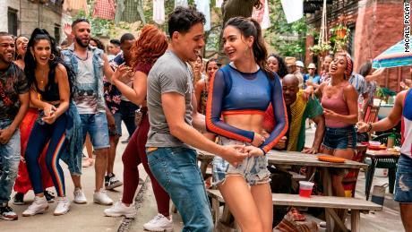 Anthony Ramos et Melissa Barrera dans la comédie musicale