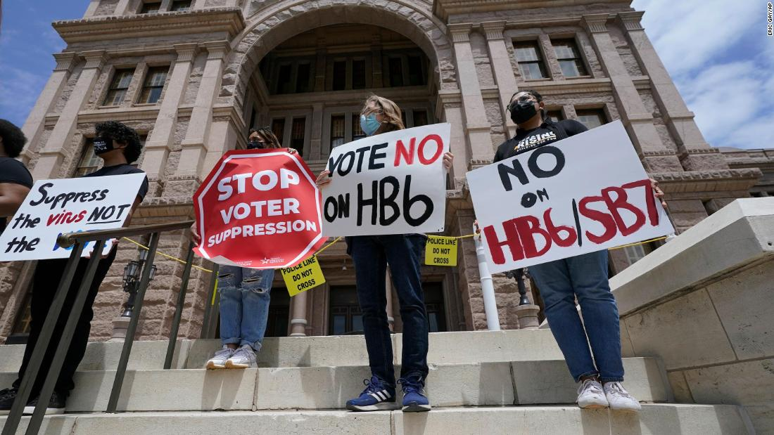 National News Agency   The ominous part of Texas' voter suppression move