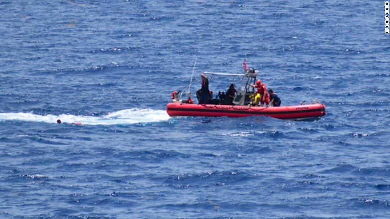 Coast Guard suspends search for 10 missing Cuban migrants after boat overturns near Florida