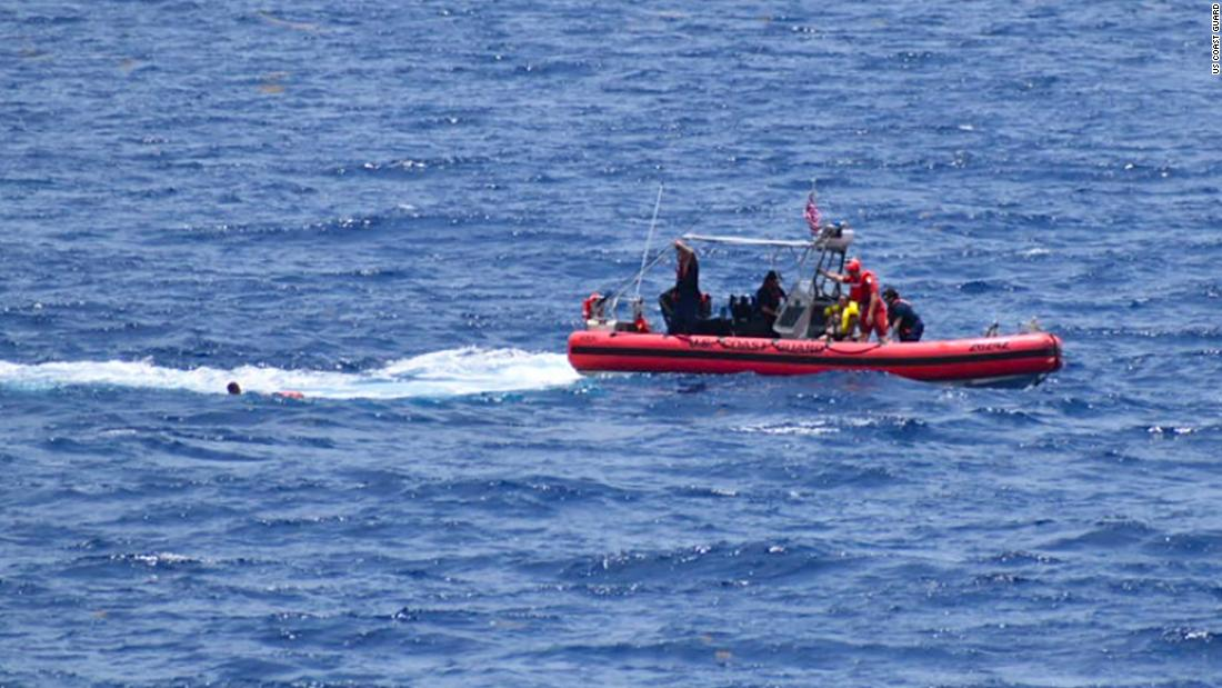 Coast Guard continues search for missing people after boat overturns off Florida, leaving 2 dead