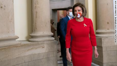 Pelosi: House won't take up the bipartisan bill until Senate votes on reconciliation