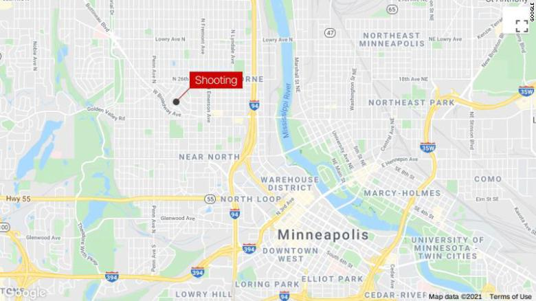 A 9-year-old girl has died after being shot while jumping on trampoline in Minneapolis